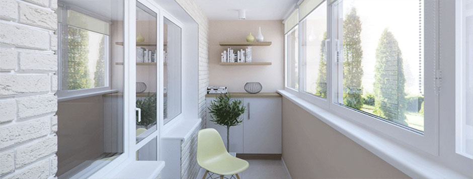 """Внутренняя отделка балконов и лоджий в туле - компания """"алим."""