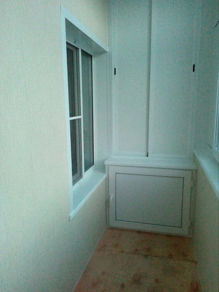 Лоджия под ключ на 9 этаже. Фото 1
