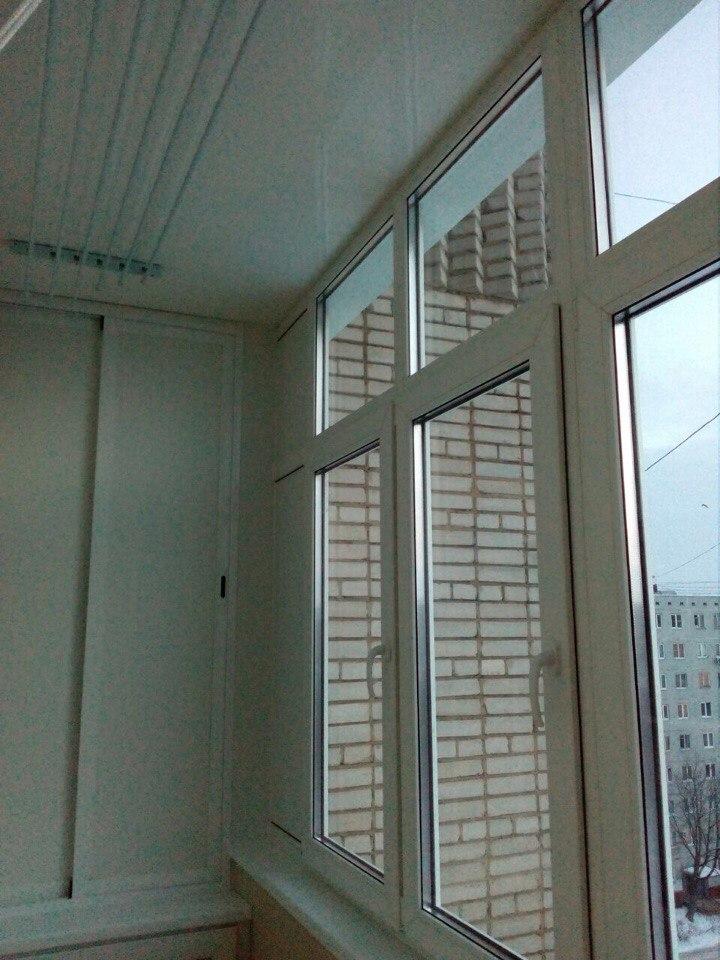 Лоджия под ключ на 9 этаже. Фото 2