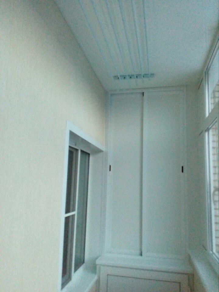 Лоджия под ключ на 9 этаже. Фото 3