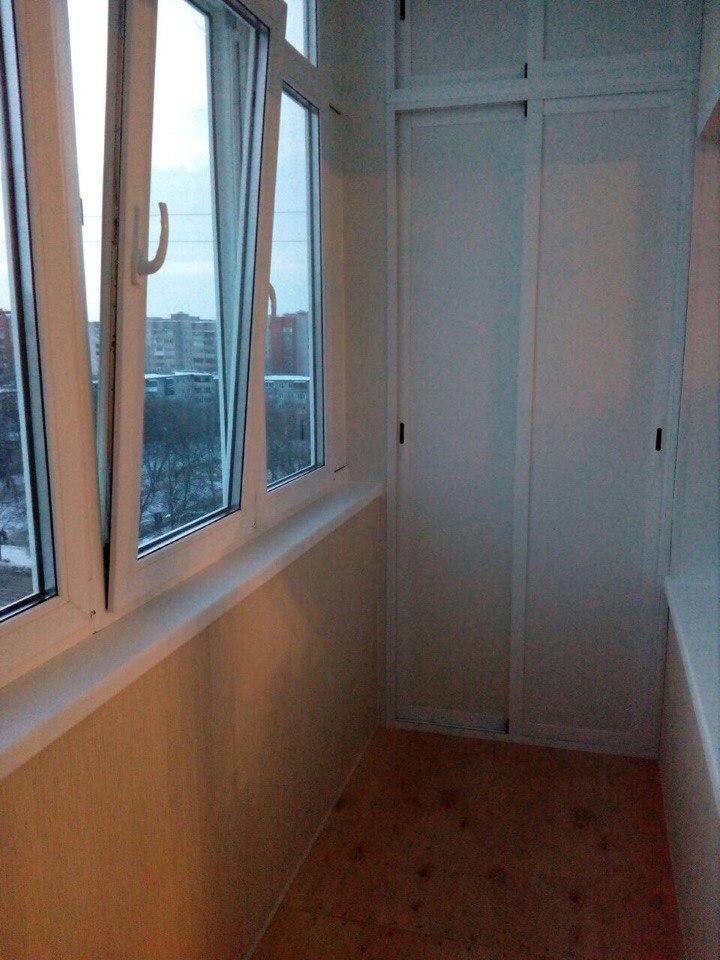 Лоджия под ключ на 9 этаже. Фото 9