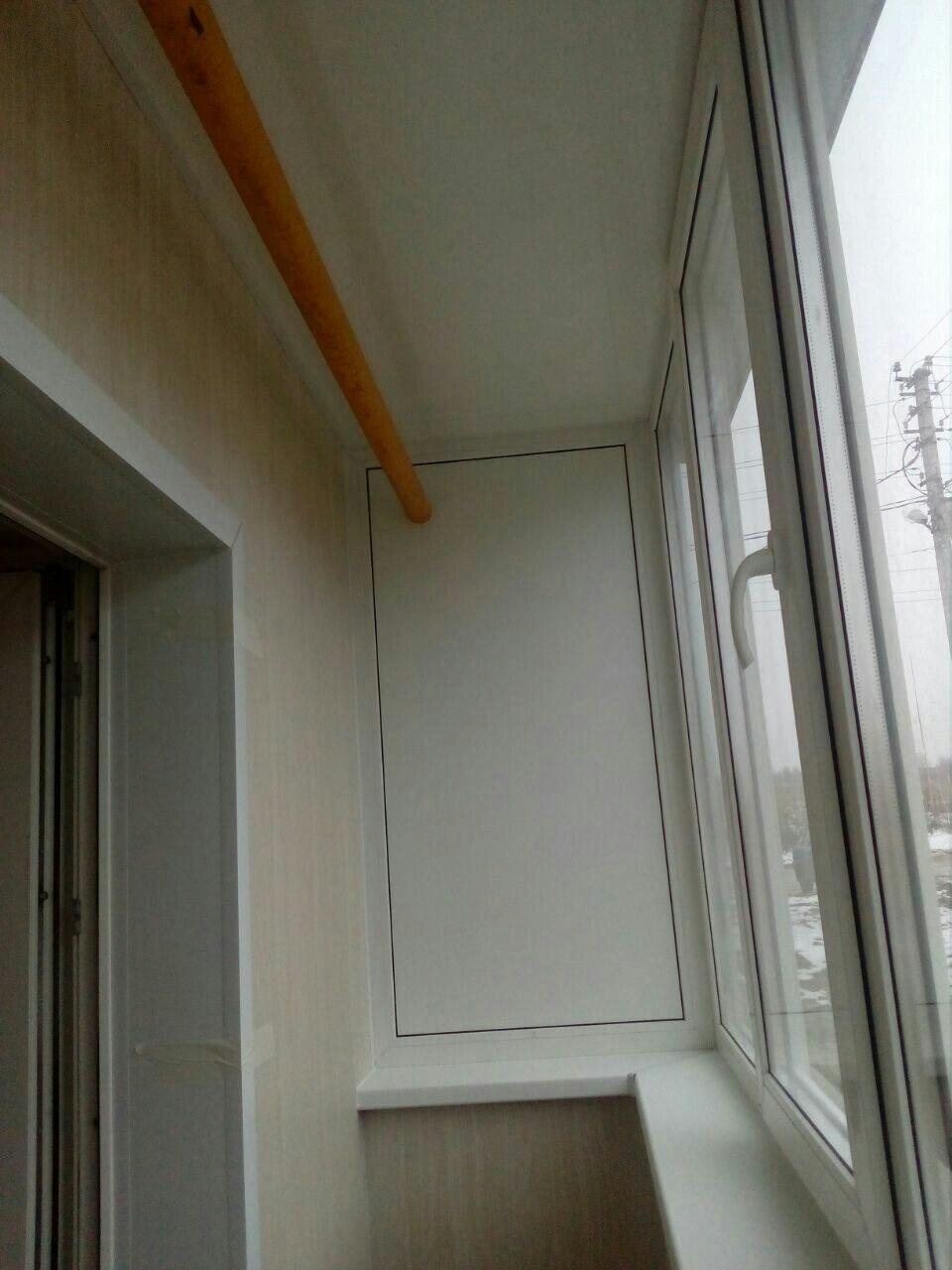 Балкон под ключ в новых домах на Скуратово. Фото 5