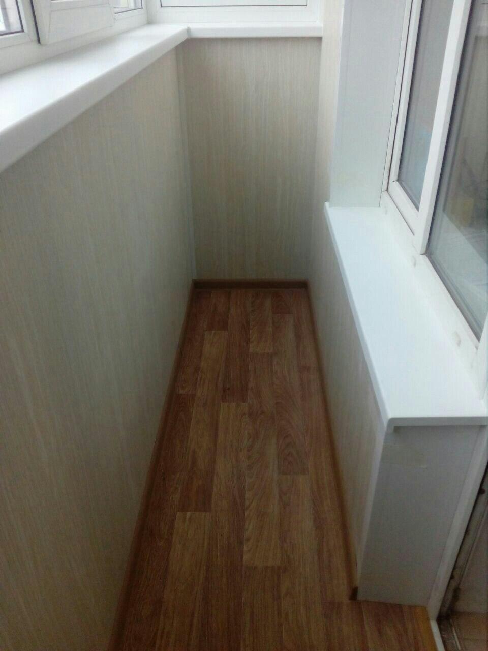 Балкон под ключ в новых домах на Скуратово. Фото 6