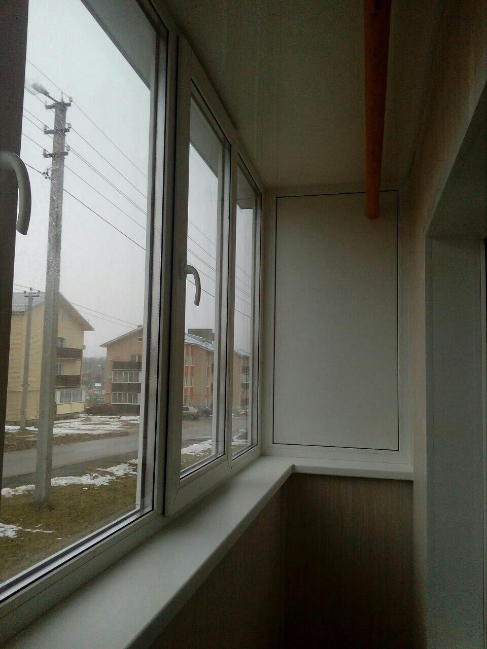 Балкон под ключ в новых домах на Скуратово. Фото 7