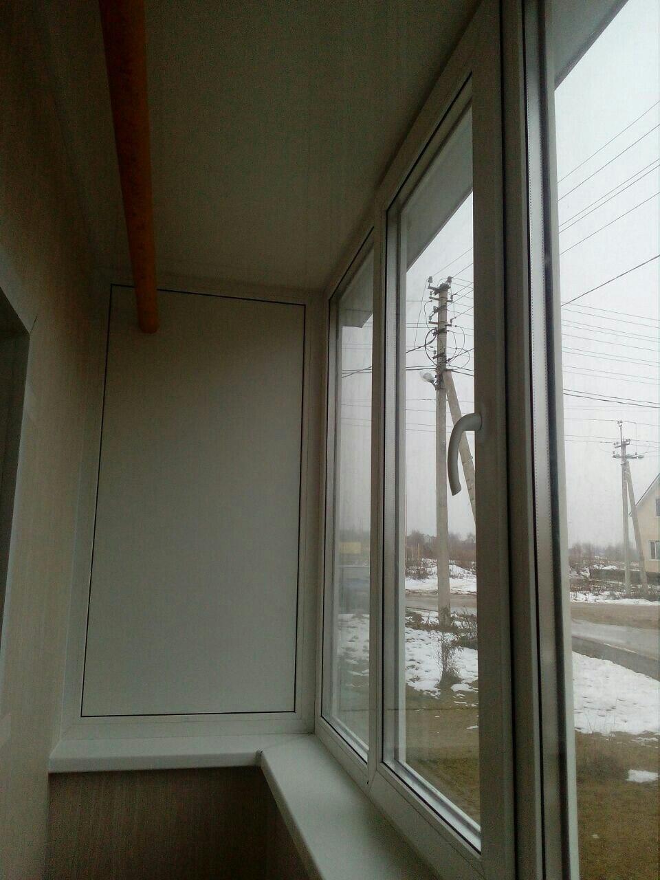 Балкон под ключ в новых домах на Скуратово. Фото 9