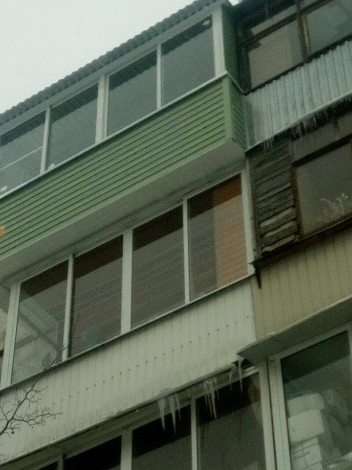 Вынос балкона по плите. Фото 2