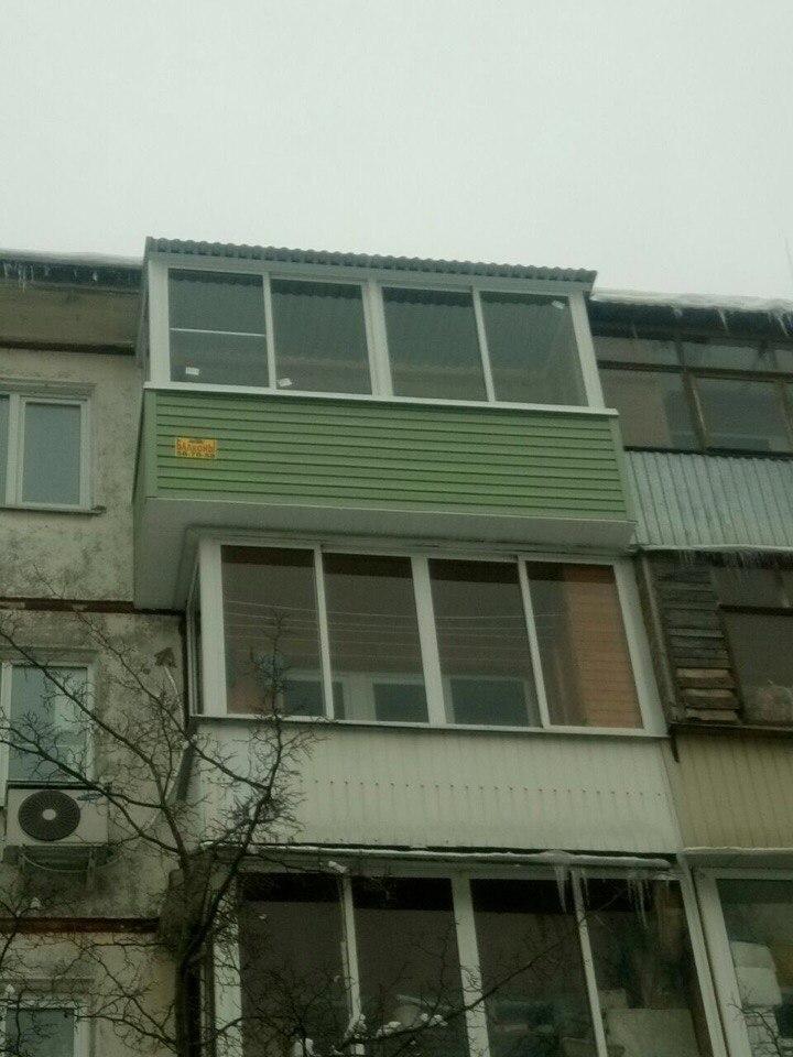 Вынос балкона по плите. Фото 4