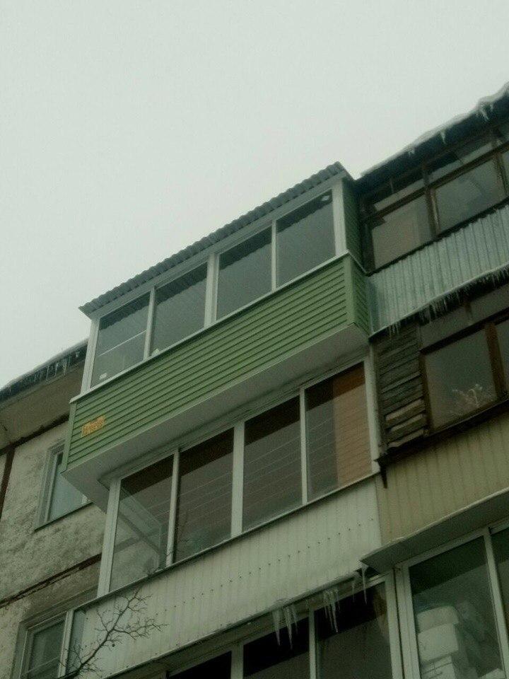 Вынос балкона по плите. Фото 5