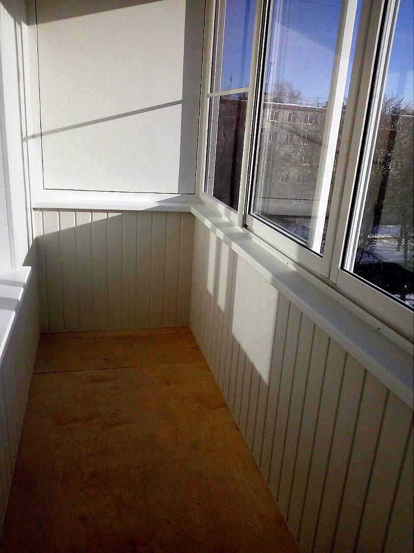 Эконом балкон с выносом по плите. Фото 5