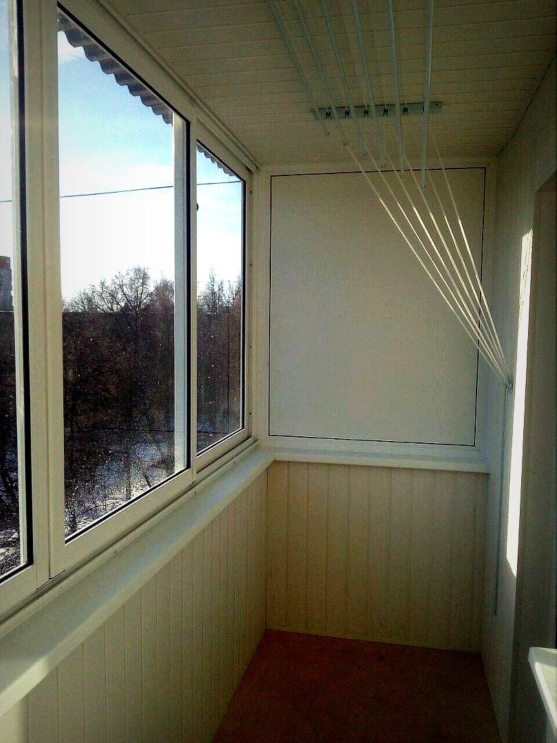 Эконом балкон с выносом по плите. Фото 4