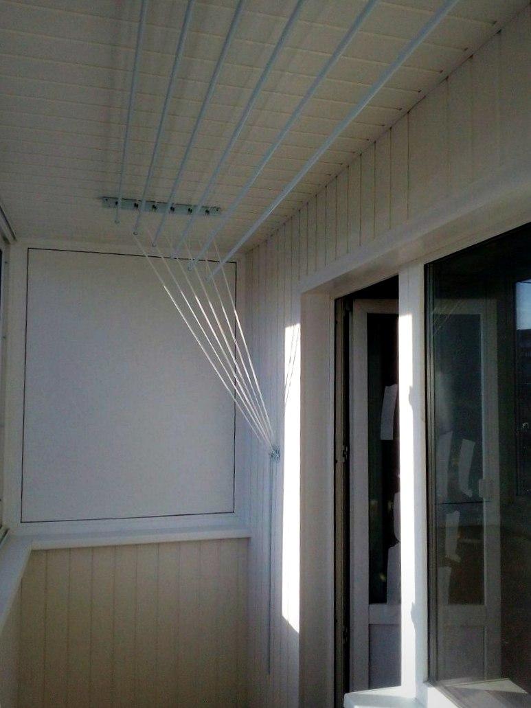 Эконом балкон с выносом по плите. Фото 3