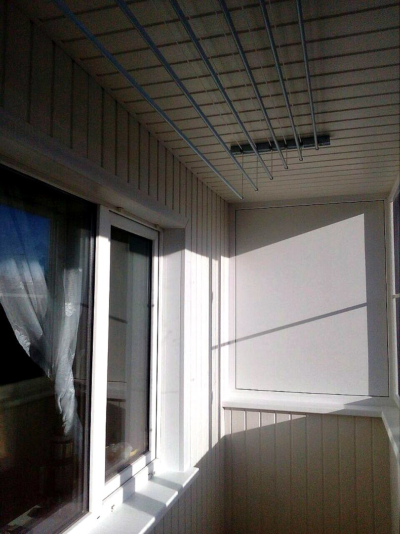 Эконом балкон с выносом по плите. Фото 2